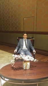 Interviewer: I interviewed big players in the business world from this seat.