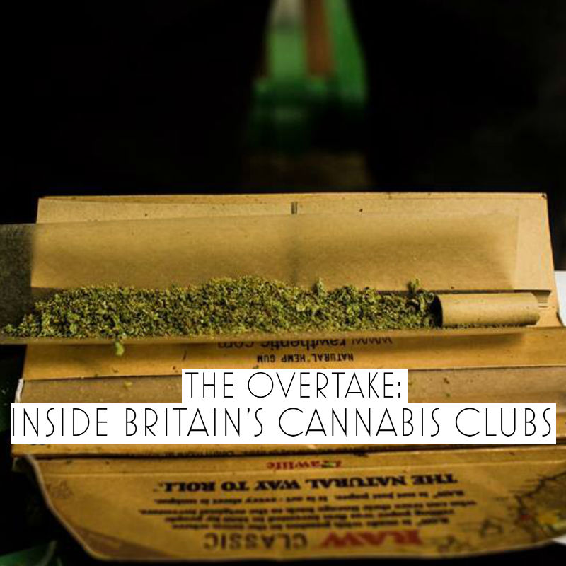 the overtake michael mander cannabis clubs